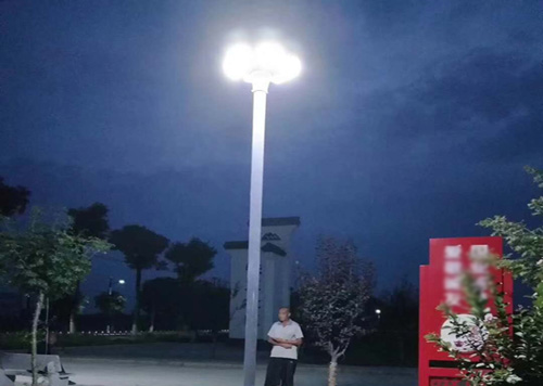 hitechled UFO lampu LED surya