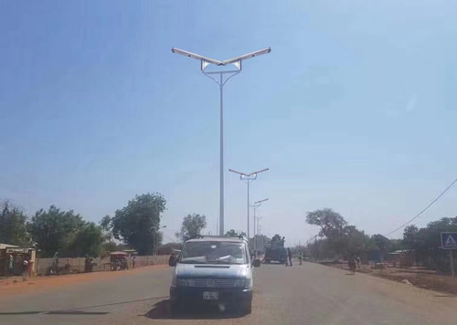 A2 60W all in one solar street light